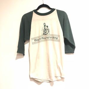 Russell Athletic Medium Baseball T shirt Vintage